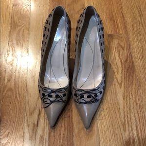 Kate spade Carmel/chocolate heels